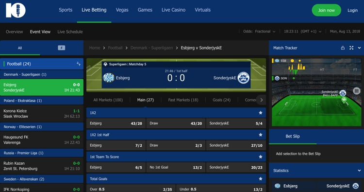 10bet in play betting